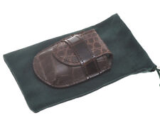 Pocket watch case made of real crocodile: hand made for users & collectors
