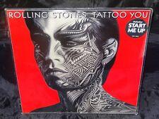 Rolling Stones Tattoo You Sealed USA 1986 Orig Vinyl Lp Record Album Hype Stick