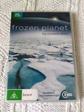 FROZEN PLANET – DVD, 3-DISC SET, R-4, LIKE NEW, FREE POST IN AUSTRALIA