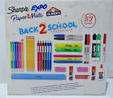 Newell Brand 37Ct Sharpie/Expo/Papermate/El mer's Home School/Office Essentials