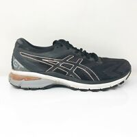 Asics Womens GT 2000 8 1012A591 Black Grey Running Shoes Lace Up Size 8.5