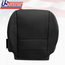 2007 until 2012 Acura MDX Driver Lower Genuine Leather Seat Cover in shade Black