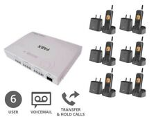 Bundle Deal | Cordless Business Phone System | 6 Users (Analogue Plug & Play)