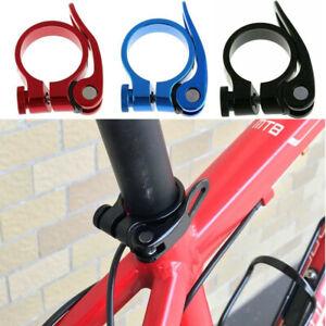Bike Seat Post Clamp Aluminium Alloy Bicycle Quick Release Seatpost Clamp 31.8mm