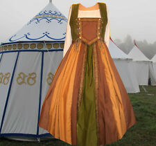 Renaissance Medieval SCA Garb Gown Tudor 2pc Bi-Lacing Bodice Full Skirt Drstrg
