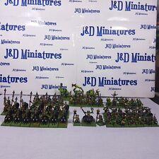 Gw warhammer orcos oldhammer & goblins bosque Duende Ejército Pro Pintado toda de metal