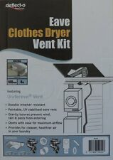 DK4E CLOTHES DRYER UNDEREAVE VENT KIT  FITS MANY STANDARD 100MM DIAM