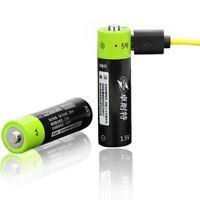 ZNTER 1.5V 1250mAh USB Rechargeable AA Li-Po Batería
