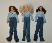 Charlies Angels In Chains 3 Doll Set w/Prison Outfits Farrah Fawcett Jaclyn Kate