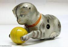 KÖHLER Katze mit Ball Blech + Holz Art. Nr. 17 TOP