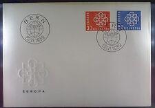 Switzerland 1959 FDC 679-80 Union Europa Cept