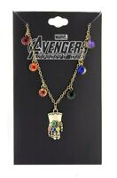 Avengers Infinity Gauntlet Necklace Thanos Gems Infinity War Endgame Marvel
