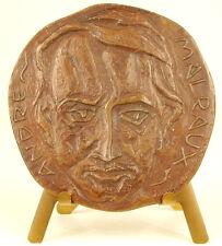 Médaille à l'écrivain au politicien et aventurier André Malraux 67 mm  Medal