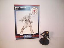 Star Wars Miniatures - Anakin Skywalker, Jedi 1/6 + Card - Rare