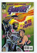 GUNFIRE #1 DC Comics 1994,High grade.