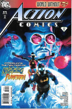 Action Comics Comic Book #875 Superman DC Comics 2009 NEAR MINT NEW UNREAD