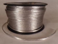 25 ft Silver 18/2 SPT-1 U.L Listed Parallel 2 Wire Plastic Covered Lamp Cord 603