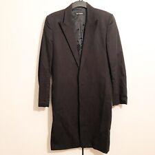Raf Simons Vintage Black 3/4 Length Fitted Jacket RRP: £549