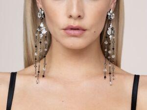 agent provocateur Manuka Clip Earring Black | Size OS | Box(59)