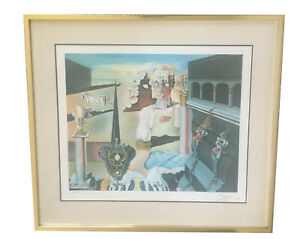 SALVADOR DALI L'HOMME INVISIBLE LITHOGRAPH SIGNED EMBOSSED 168/300