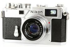 Nikon S3 Rangefinder Camera + W Nikkor-C 35mm 3.5cm F/2.5 Lens Exc+++ from Japan