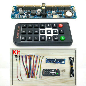 6-Bit NIXIE Clock Remote Control board Motherboard For IN12 IN14 IN18 QS30-1