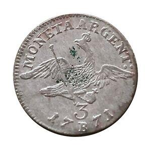 Preussen 3 Kreuzer 1771 B Friedrich der Große Königsberg