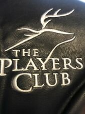 The Players Club at Deer Creek Omaha Ne Navy Red Leather Driver Golf Headcover