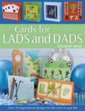 CARDS FOR MEN and BOYS by Elizabeth Moad / Craft Book                      b