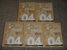 2004 GMC Sierra & Denali 1500 2500 3500 SLE SLT Service Repair Manual Diesel OEM