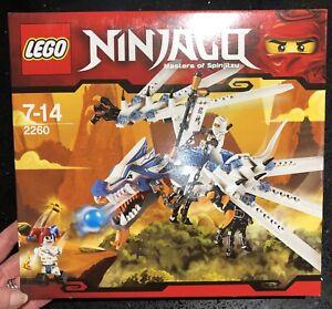 LEGO NINJAGO Ice Dragon Attack (2260) *Rare Set*