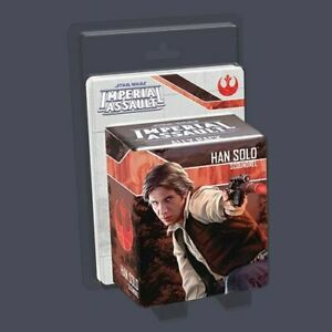 Star Wars Imperial Assault Han Solo Ally Pack Fantasy Flight Games