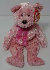 Smitten – TY Beanie Baby – Teddy Bear - 2002