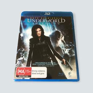 Underworld: Awakening Blu-ray - Region B/GC/Tested/Sci-Fi/Vampires/Free Post 🐙