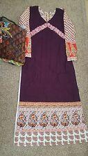 Pakistani designer salwar kameez anarkali dress