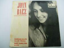 "JOAN BAEZ Accompanying Herself On The Guitar - 7"" EP"