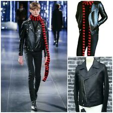 UltraRare & Great Saint Laurent AW15 Hedi Slimane Leather Motorcycle Jacket