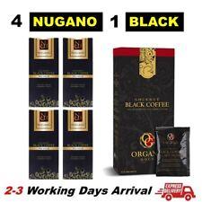 【Free Organo Gold Black Coffee】 4 Box Nugano Artisan Black Ganoderma Cafe Noir