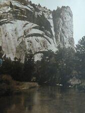 Royal Arches Yosemite National Park Sepia Postcard