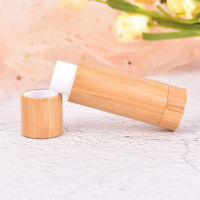 5g Bamboo Empty Lip Gross Containers Lipstick Tube DIY Container Lip Balm TubeDP