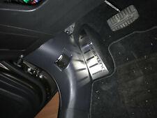 Fußstütze Edelstahl Carbon für Mitsubishi Outlander 3 bj.2013-2020