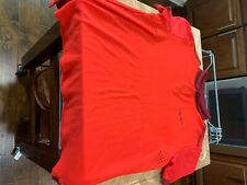 "Roger Federer Nike Polo Shirt. Has the famous ""F"" on the sleeve Size Large"