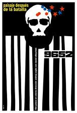 Movie Poster 4 film Paisaje despues de la batalla.Skull.Room art decor design
