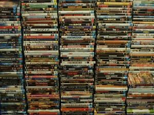 DVD Bulk Lot 2 Choose Your Title Every Disc $4.50 Assorted Titles/Genres CHEAP
