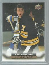 2015-16 Upper Deck Canvas #C245 Phil Esposito RET (ref43477)