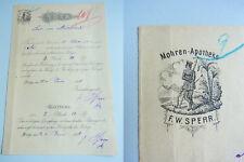 W Alte Rechnung Marienheide Rheinland Textil Kurzwaren H Gerwing Von 1947