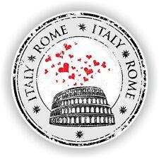 Roma Italia Sello Pegatina para Coche Camión Portátil Tablet Nevera Puerta