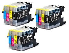 12 NON-OEM INK CARTRIDGE BROTHER LC-79 LC-79XL MFC-J6510DW MFC-J6710DW BK C M Y
