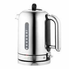 Dualit Classic Kettle Polished Stainless Steel 72815 Black Trim - BRAND NEW