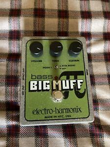Electro-Harmonix Bass Big Muff Pi Distortion Guitar Effect Pedal